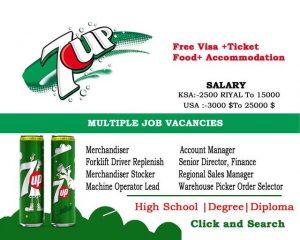 7UP Jobs