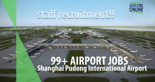 shangai pudong airport job