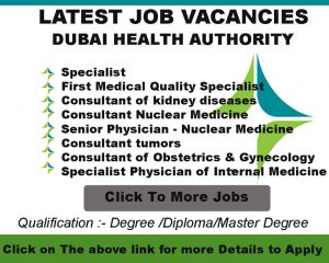 dubai health authority jobs